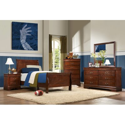Mayville Sleigh Customizable Bedroom Set