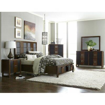 Woodbridge Home Designs Zeigler Storage Panel Bed - Size: Queen