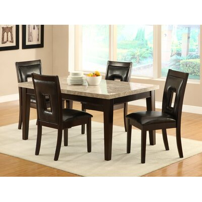 Hahn 5 Piece Dining Set