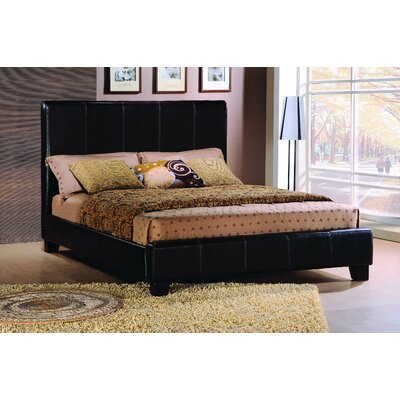Copley Upholstered Panel Bed Size: California King