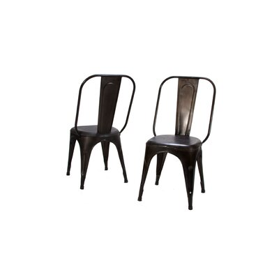 Amara Side Chair (Set of 4) Finish: Rustic