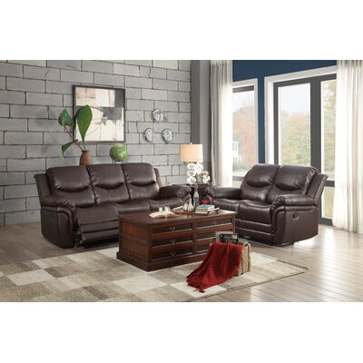 8515BRW-3 Woodhaven Hill Living Room Sets
