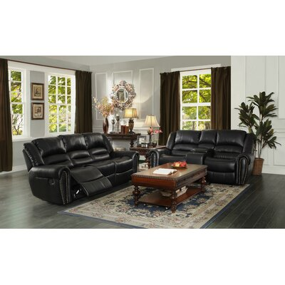 9668BLK-3 / 9668BRW-3 Woodhaven Hill Living Room Sets