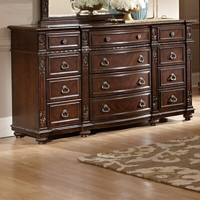 Hillcrest Manor 12 Drawer Standard Dresser