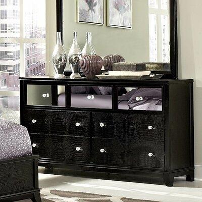 Jacqueline 7 Drawer Standard Dresser