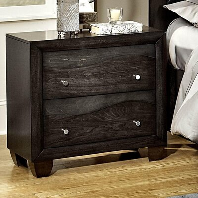 Woodbridge Home Designs Redondo 2 Drawer Nightstand