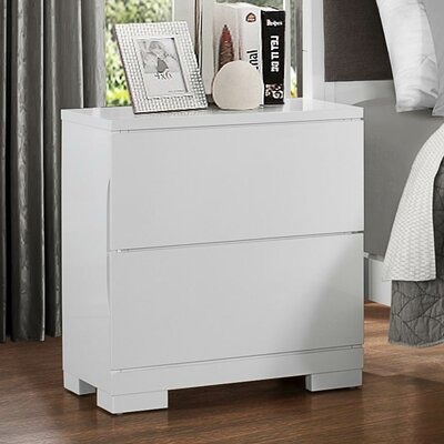 Woodbridge Home Designs Galva 2 Drawer Nightstand