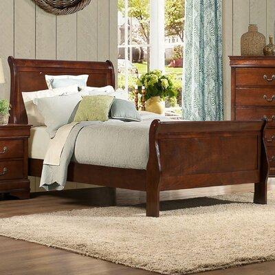 Mayville Sleigh Bed Size: Queen