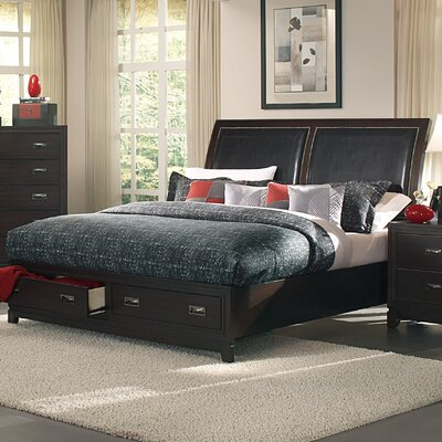 Lindley Storage Sleigh Bed Size: King
