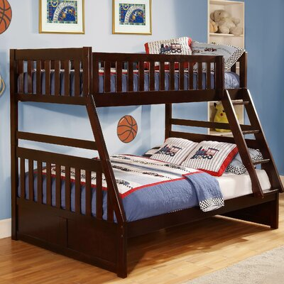 Woodbridge Home Designs Rowe Twin Over Full Standard Bunk Bed C3124UGED-2