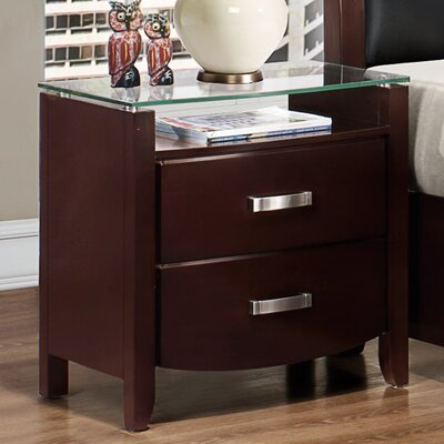 Woodbridge Home Designs Lyric 2 Drawer Nightstand