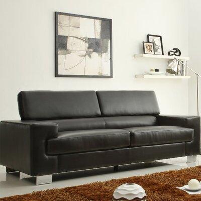 Vernon Sofa Upholstery: Black