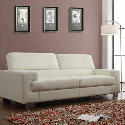 Vernon Sofa Upholstery: White