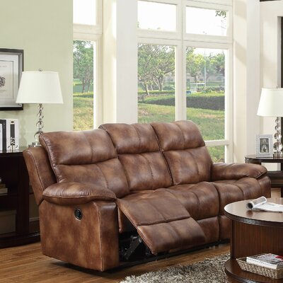 0746QN-4 HE7043 Woodhaven Hill Brooklyn Heights Double Reclining Sofa