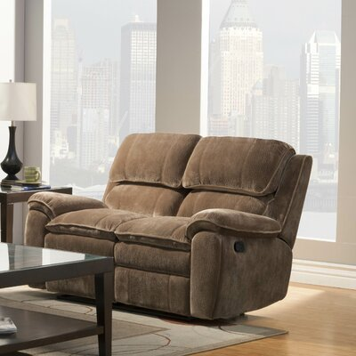 0877DQ-3 HE7148 Woodhaven Hill Reilly Double Reclining Loveseat Upholstery