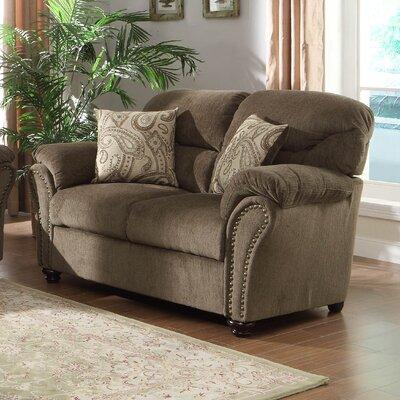 0720OG-3 HE6984 Woodhaven Hill Valentina Loveseat Upholstery