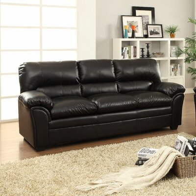 Talon Sofa Upholstery: Black