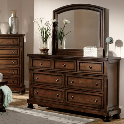 Cumberland 7 Drawer Dresser with Mirror