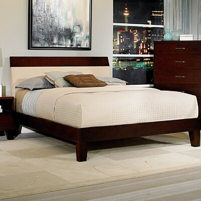 Claran Upholstered Panel Bed Size: Queen