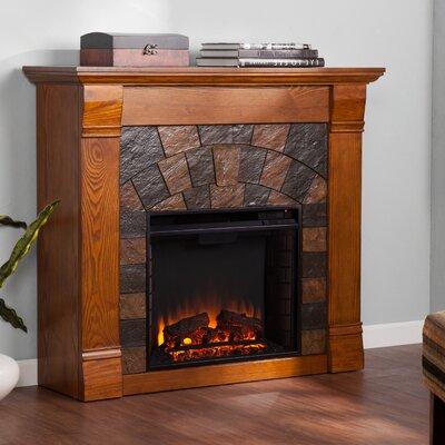 Woodhaven Hill Blake Electric Fireplace - Finish: Antique Oak
