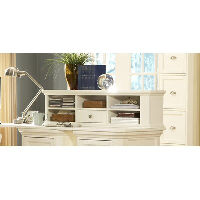 Hanna Triple Length Accent Cabinet Top Finish: White
