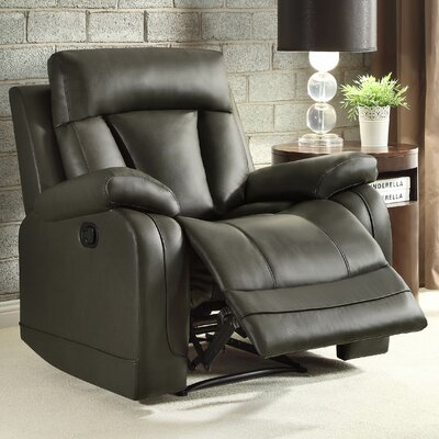 Ackerman Recliner Upholstery: Grey