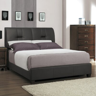 Ottowa Upholstered Panel Bed Size: California King