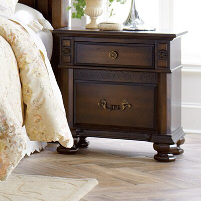 Chantilly Glen 2 Drawer Nightstand
