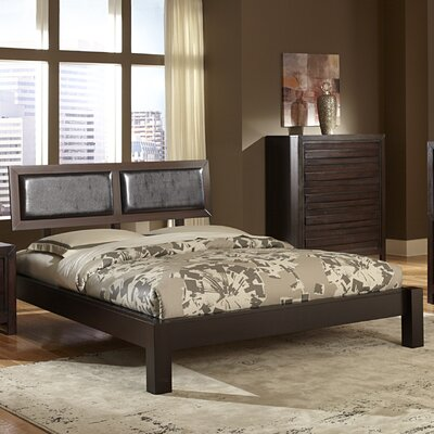 Danika Upholstered Panel Bed Size: California King
