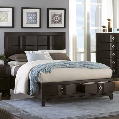 Edmonston Panel Bed Size: Queen