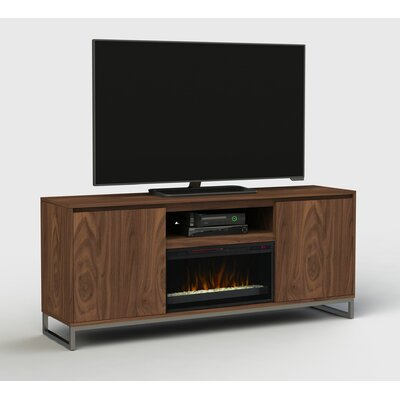 72 TV Stand with Fireplace