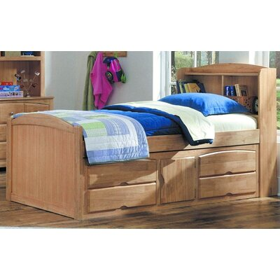 Cheap 827 Series Captain Bed with Under Storage in Maple Size: Full (HE3385_3231254)