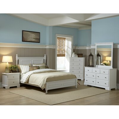 Easy financing Morelle 6 Drawer Chest Finish: Whit...