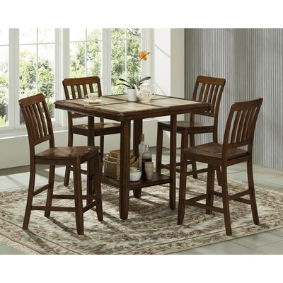 In store financing Tiling Counter Height Dining Table...