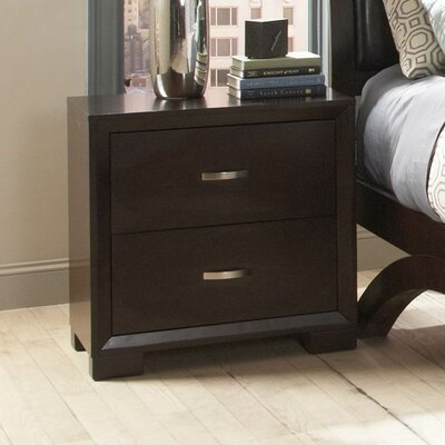 1313 Series Nightstand in Distressed Espresso