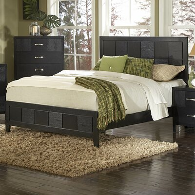 Easy financing 1477 Series Panel Bed Size: King...