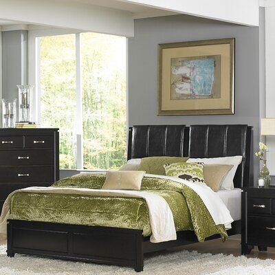 1357 Series Bed in Distressed Espresso
