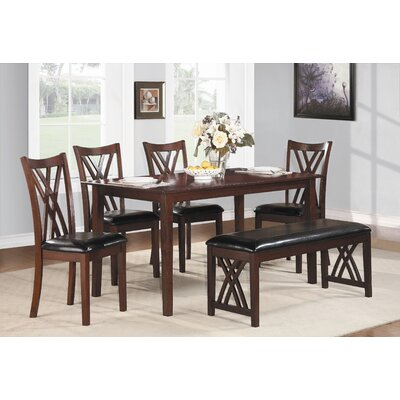 Brooksville 6 Piece Dining Set