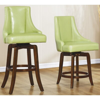 Bad credit financing Annabelle Swivel Bar Stool (Set of ...