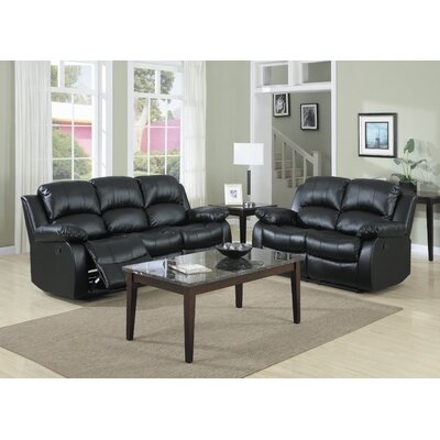 Cranley Bonded Leather Living Room Collection Woodhaven Hill Living Room Sets