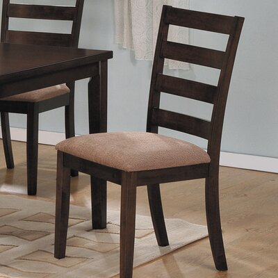 Low Price Woodbridge Home Designs Hale Ladderback Side Chair (Set of 2)
