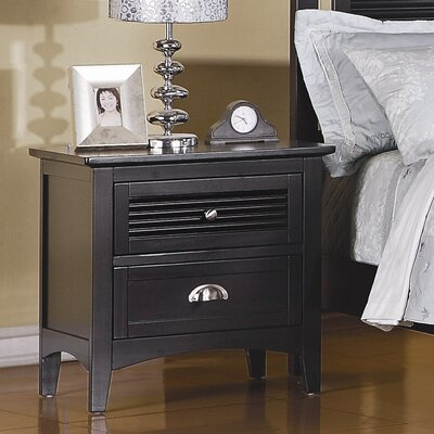 Easy financing Robinson 2 Drawer Nightstand Finish...