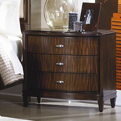 Abramo 3 Drawer Nightstand