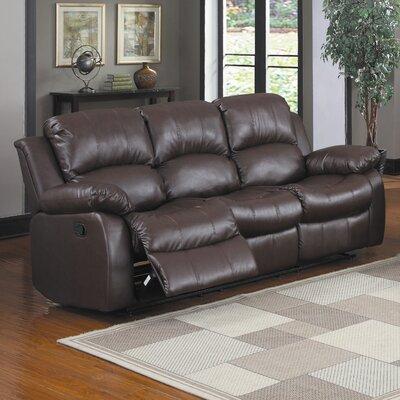 0811CSX-4 HE5274 Woodhaven Hill Cranley Reclining Sofa