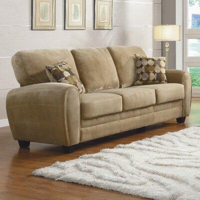 Rubin Sofa Upholstery: Light Brown