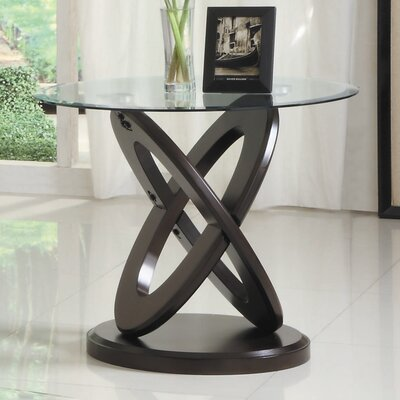 Woodbridge Home Designs Firth II End Table - Finish: Deep Cherry
