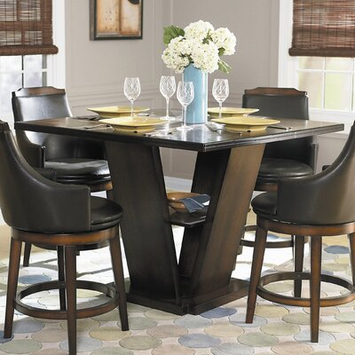 Woodbridge Home Designs Bayshore Counter Height Dining Table | Wayfair