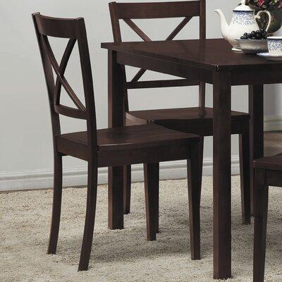 Low Price Woodbridge Home Designs Sloan X-Back Side Chair (Set of 2)