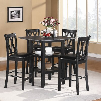 Kathie 5 Piece Counter Height Dining Set