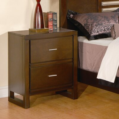 Furniture rental Tove 2 Drawer Nightstand...